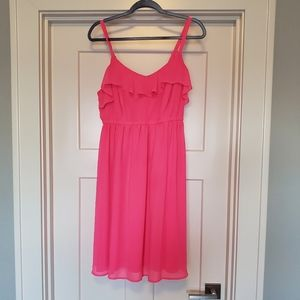bright pink Torrid dress